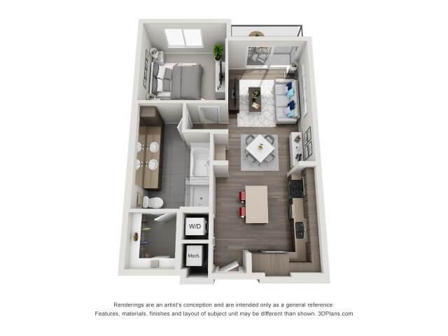 Catalyst Houston A2 4 4 - Floor Plans